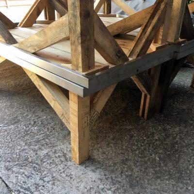 Mesas bajas estilo industrial