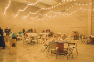 Guirnaldas vintage boda industrial
