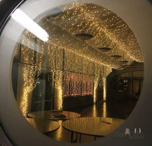 Micro LED techo + cortinas