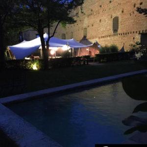 Carpa Beduina Castillo de Pedraza