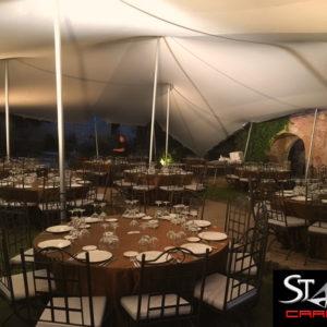 Carpa Beduina Interior banquete