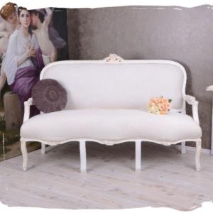 Sofa Crudo Clásico 3 plazas