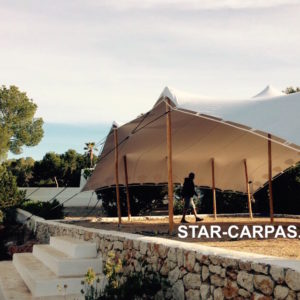 Carpa Beduina en Can Soleil - Ibiza