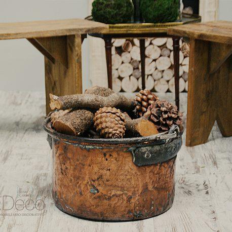 banco madera maciza nogal novios ceremonia banquete rústico