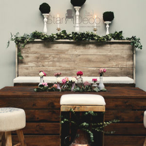 Alquiler de chill out estilo rustico boho chic clasico jardin eventos bodas mobiliario pallet