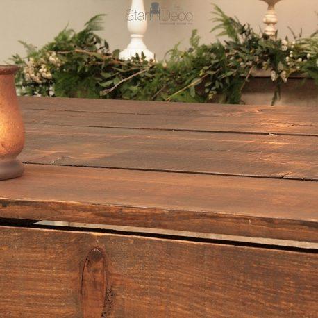 barra vintage madera alquiler bodas eventos discoteca coctel