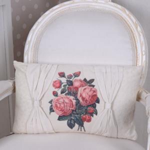 Cojin rectangular Flor vintage