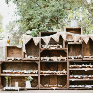 Cajon de fruta Vintage