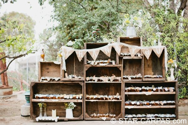 cajon fruta madera antigua alquiler bodas eventos decoración rustico vintage
