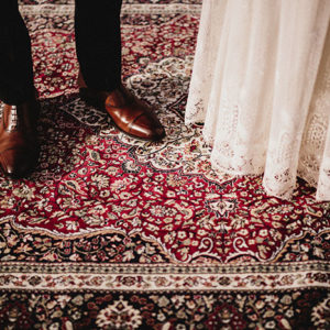 Alfombra tapiceria estilo persa ceremonia o rincon Boho